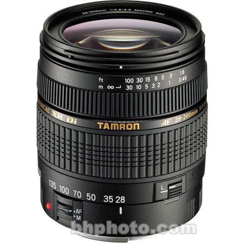 Tamron AF 28-200mm Super Zoom f/3.8-5.6 XR Di Lens for Canon