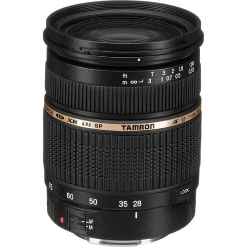 Tamron 28-75mm f/2.8 XR Di Autofocus Lens for Canon EOS