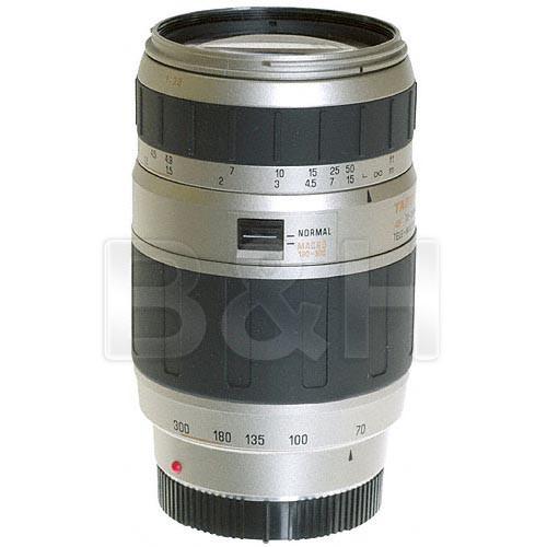 Tamron Zoom Telephoto AF 70-300mm f/4.0-5.6 LD Macro Autofocus Lens for Minolta Maxxum - Silver