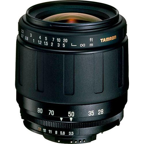 Tamron AF 28-80mm f/3.5-5.6 Aspherical AF Zoom Lens