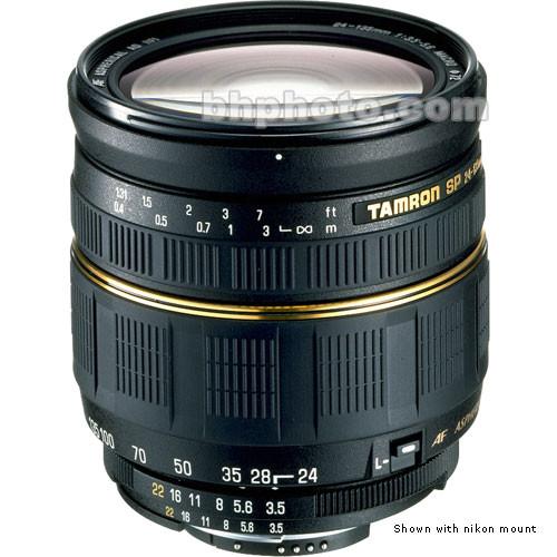 Tamron Zoom W/A-Telephoto SP AF 24-135mm f/3.5-5.6 AD Aspherical IF AF Lens
