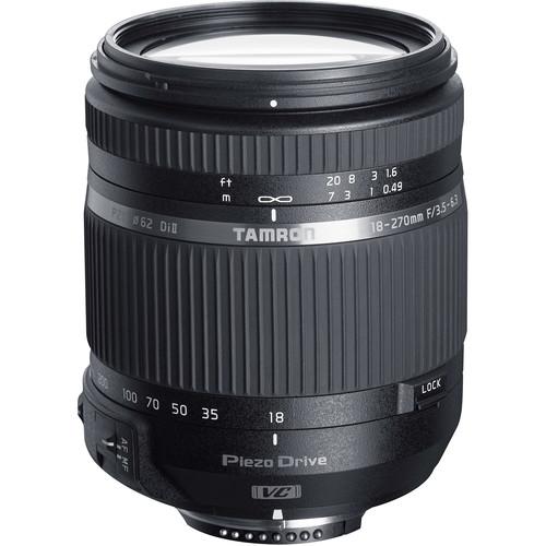 Tamron 18-270mm f/3.5-6.3 Di II VC PZD Lens for Nikon F