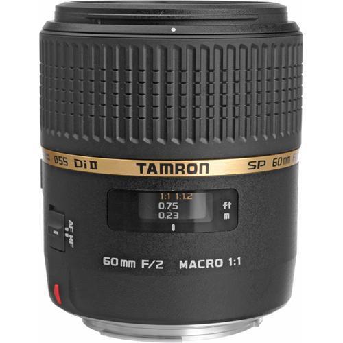 Tamron SP 60mm f/2 Di II 1:1 Macro Lens for Canon EF
