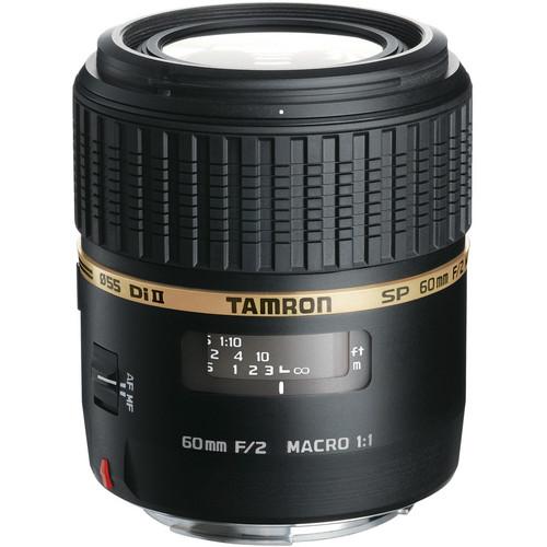 Tamron SP 60mm f/2 Di II 1:1 Macro Lens for Nikon F
