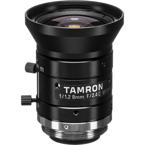 "Tamron 1/1.2"" C-Mount 8mm Fixed Focal Lens"