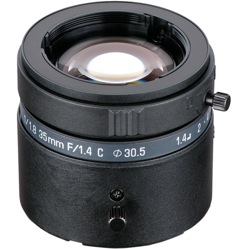 Tamron M118FM35-II 35mm C-Mount f/1.4-22 Fixed-Focal Lens