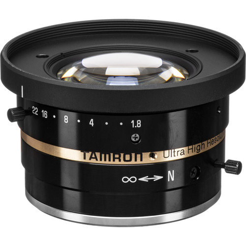 "Tamron C-Mount 6mm f/1.8-22 2/3"" Machine Vision Fixed-Focal Lens"