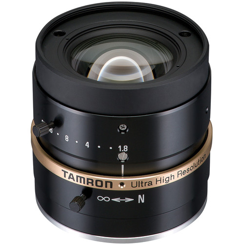 "Tamron C-Mount 8mm f/1.8 2/3"" Machine Vision Fixed-Focal Lens"