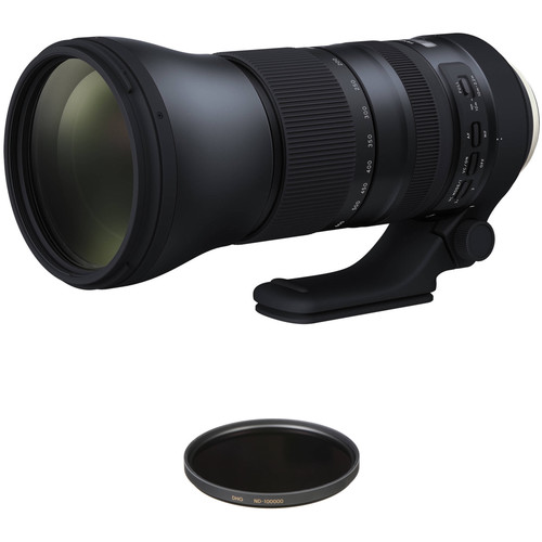 Tamron SP 150-600mm f/5-6.3 Di VC USD G2 Lens Solar Eclipse Kit for Canon EF