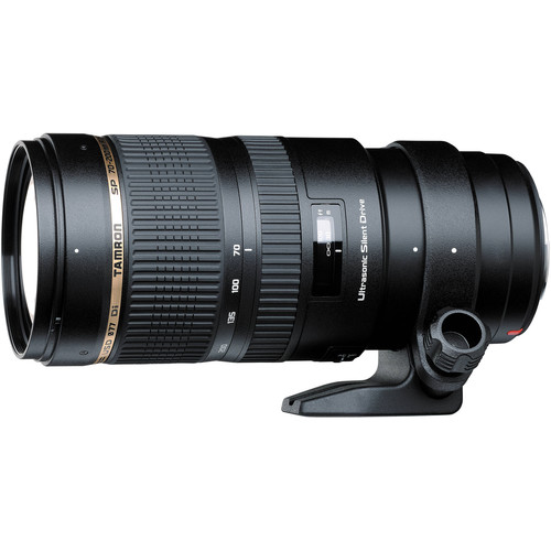 Tamron SP 70-200mm f/2.8 Di USD Lens and Filter Kit for Sony A