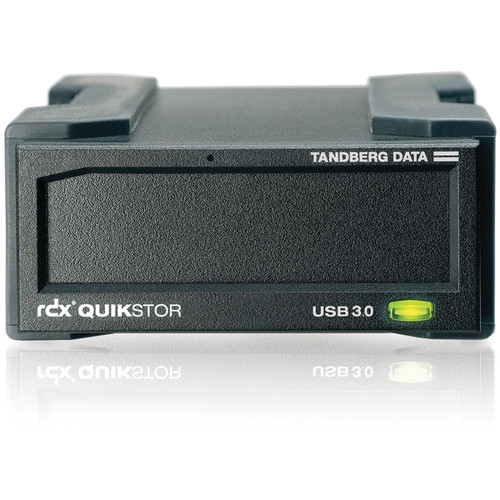 Tandberg Data QuikStor RDX USB 3.0 Removable Disk System with AccuGuard Software