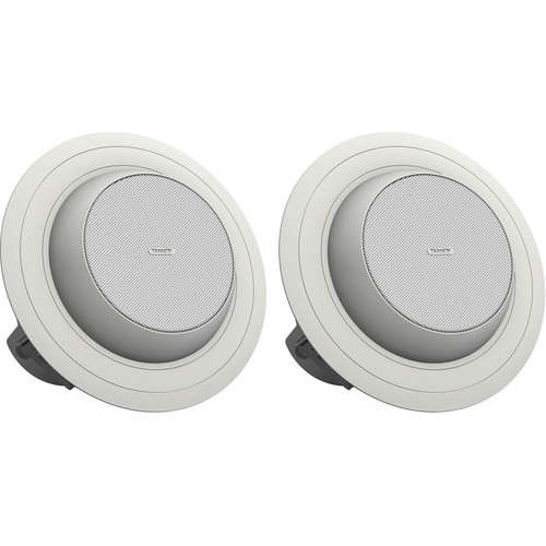 "Tannoy 4"" Full-Range Directional Ceiling Loudspeaker with Dual Concentric Driver (Blind Mount, Pair)"