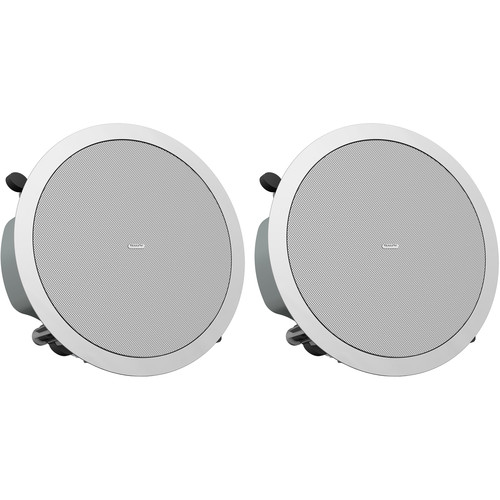 """Tannoy 5"""" Full-Range Ceiling Loudspeaker with Dual Concentric Driver (Low-Profile, Pair)"""