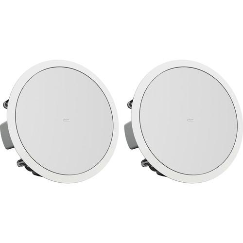 """Tannoy CMS 803DC PI 8"""" Full Range Ceiling Speaker (Pre-Install, White, Pair)"""