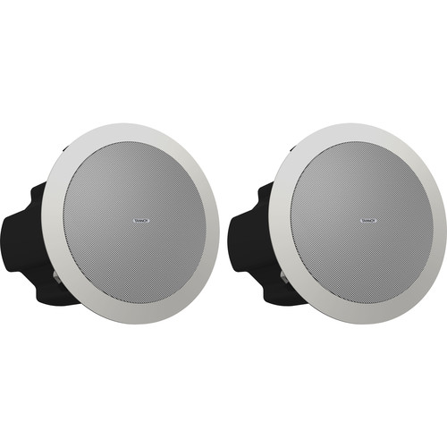 """Tannoy 4"""" Coaxial In-Ceiling Loudspeaker ( White)"""