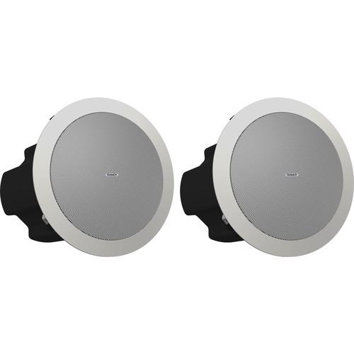 "Tannoy CVS 4 Coaxial In-Ceiling Loudspeaker (Pair, 4"", White)"