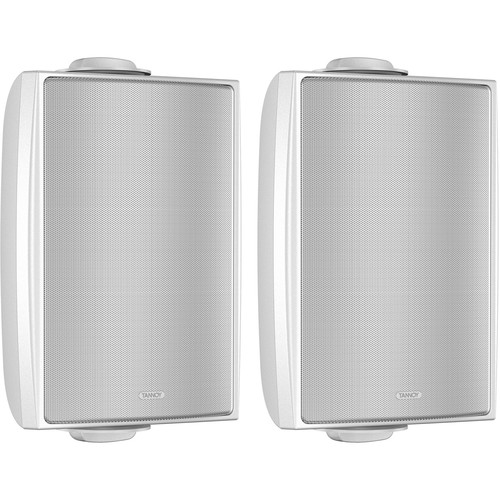"""Tannoy 4"""" Coaxial Surface-Mount Loudspeaker with Transformer (White, Pair)"""