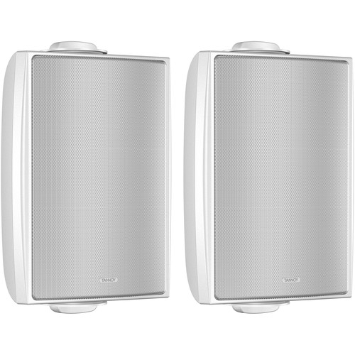 """Tannoy DVS 4-WH 4"""" Coaxial Surface Mount Speaker (White, Pair)"""