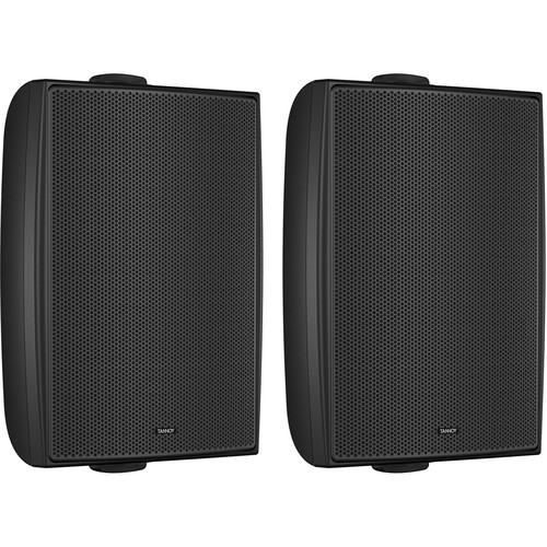 "Tannoy 6"" Coaxial Surface-Mount Loudspeaker (Black, Pair)"