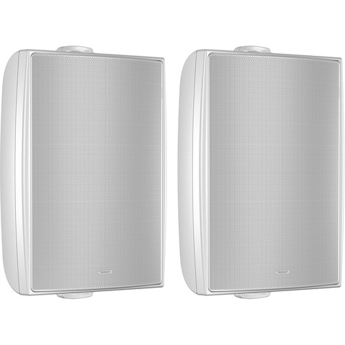 """Tannoy 6"""" Coaxial Surface-Mount Loudspeaker with Transformer (White, Pair)"""