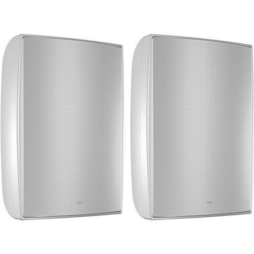 """Tannoy 8"""" Coaxial Surface-Mount Loudspeaker with Transformer (White, Pair)"""