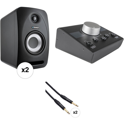 Tannoy Reveal 402 Monitor Kit with Controller and Cables (Pair)