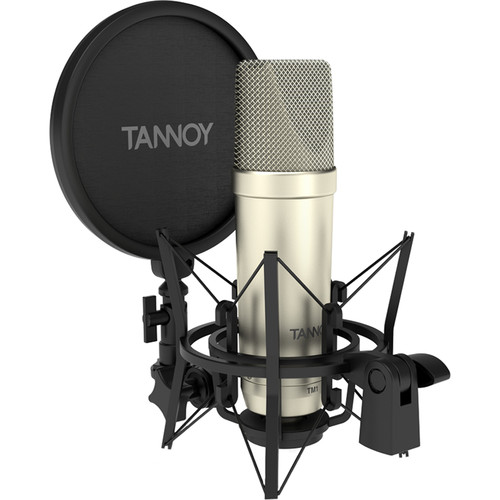 Tannoy TM1 Recording Package with Large-Diaphragm Condenser, Shockmount, Pop Filter, and Cable