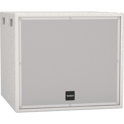 """Tannoy 15"""" Direct Radiating Passive Subwoofer (White)"""
