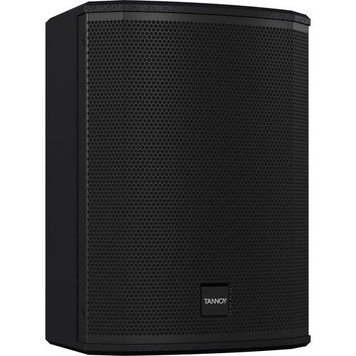 """Tannoy VXP 8 1600W 8"""" Dual Concentric Powered Sound Reinforcement Loudspeaker (Pair, Black)"""