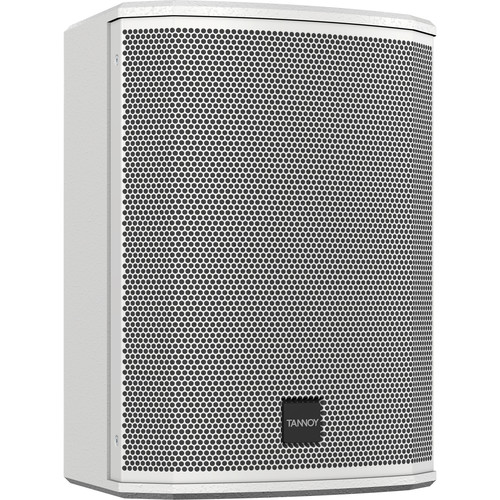 """Tannoy VXP 8-WH Dual Concentric 8"""" 1600W Powered Sound Reinforcement Speaker (White, Pair)"""