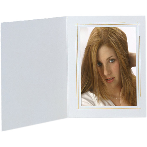 "Tap Whitehouse Photo Folder (4 x 6"", White, 500-Pack)"