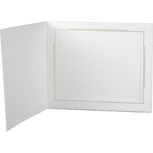 "Tap Whitehouse Photo Folder (10 x 8"", White, 25-Pack)"