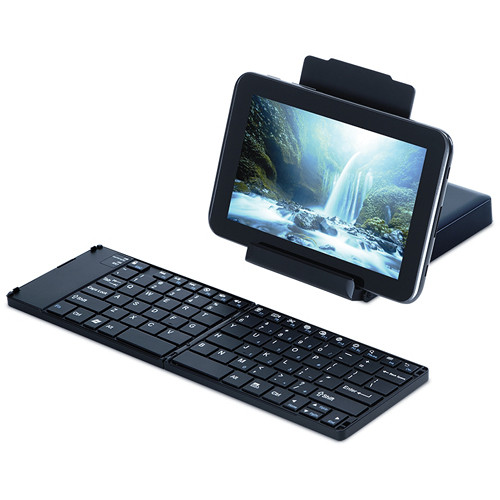 Targus AKF001US Universal Foldable Keyboard for Android Smartphones and Tablets (Black)