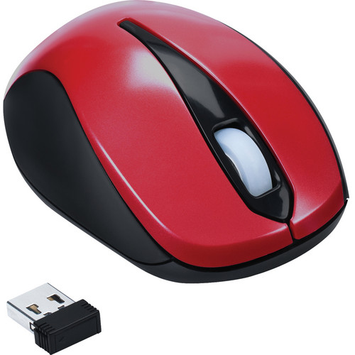 Targus Wireless Optical Laptop Mouse (Red)