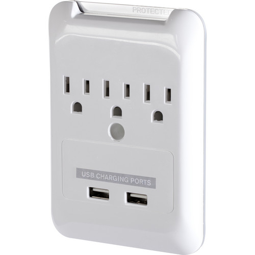 Targus Plug-N-Power Charging Station with USB Charging Ports (White)