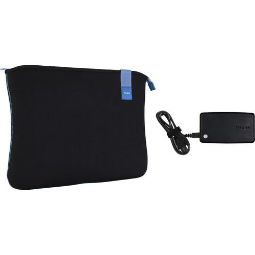 Targus BUS0310 Bonafide Sleeve with Backup Battery for Smartphones (Black)