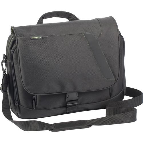 "Targus 16"" Chromatic Messenger Laptop Case (Black & Green Accents)"