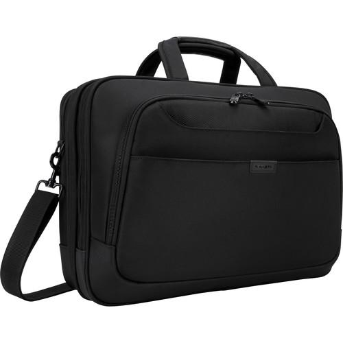 "Targus 17"" Blacktop Deluxe Checkpoint-Friendly Briefcase (Black)"