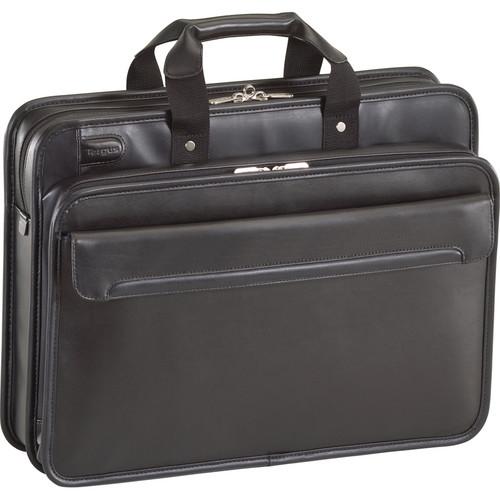 "Targus 16"" Commuter Leather Laptop Case (Black)"