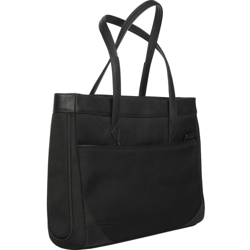 "Targus 15.4"" Hughes Ladies Laptop Tote Bag (Black)"