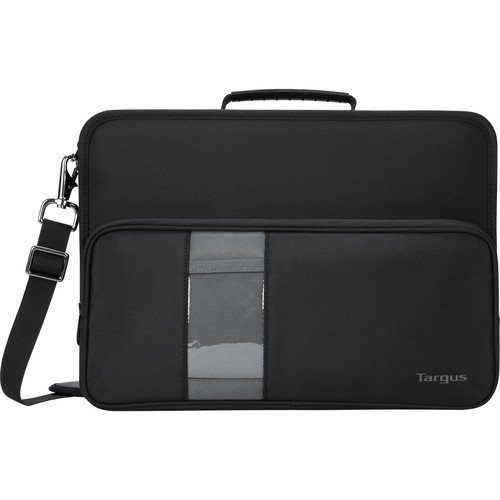 "Targus 14""Carrying Case (Briefcase) Notebook (Black, Gray)"