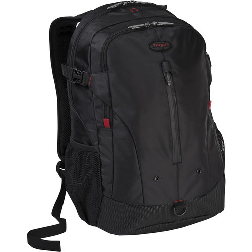 "Targus TSB226US Terra 16"" Backpack with Black/Red Accents"