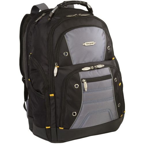 "Targus TSB702US 16"" Drifter II Plus Backpack (Black / Gray)"