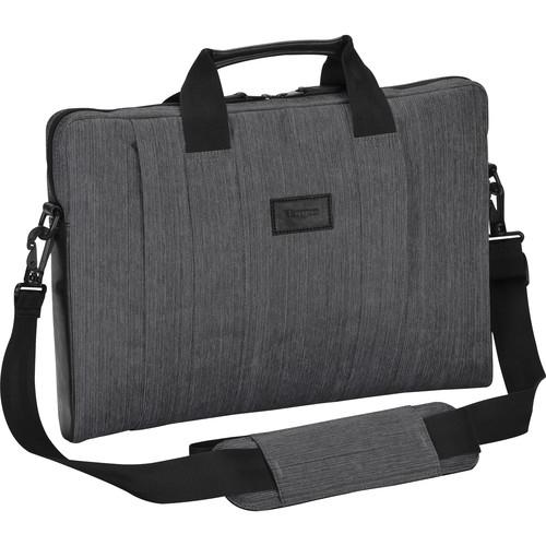 """Targus CitySmart Slipcase Sleeve with Strap for 16"""" Laptop (Gray)"""