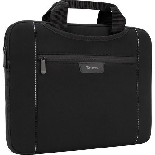 """Targus Slipskin 14"""" Laptop Sleeve with Hideaway Handles (Black)"""