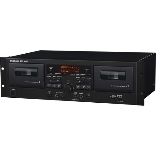 Tascam 202mkVI Dual Cassette Deck