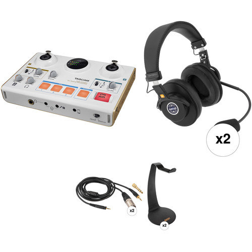 Tascam 2-Person Online Broadcasting Kit