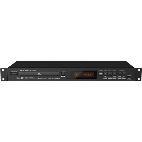 Tascam BD-01U Rackmount Blu-Ray Player