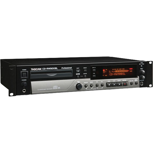 Tascam CD-RW900SLX Professional CD Recorder