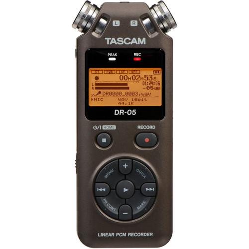 Tascam DR-05 Portable Handheld Digital Audio Recorder (Bronze)